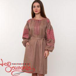 Вышитое платье Женская страсть VSU-1171