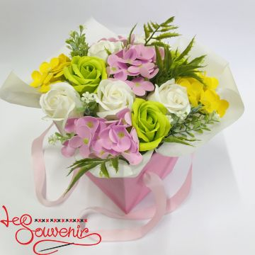 Flowers with soap RTY-1003