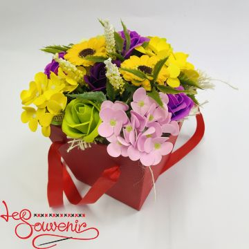 Flowers with soap RTY-1005