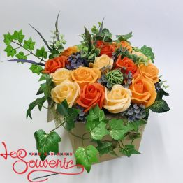 Flowers with soap RTY-1008
