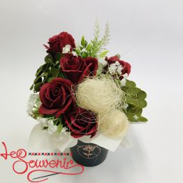 Flowers with soap RTY-1012