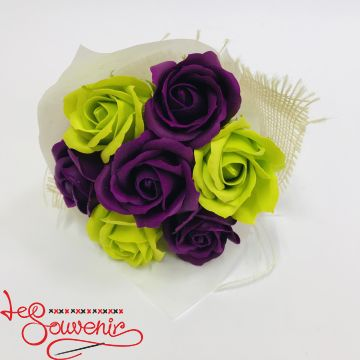 Flowers with soap RTY-1014