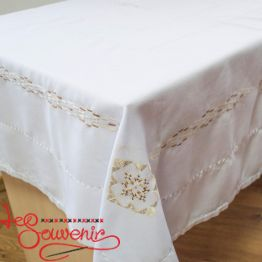 Embroidered Handmade Tablecloth EVS-1007