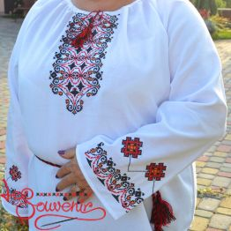 Embroidery Floral Geometry OVR-1037