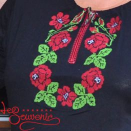 Embroidered T-shirts Holiday Rose OVR-1041