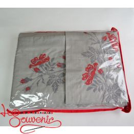 Embroidered Bed linen Roses VPB-1002