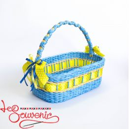 Blue and Yellow Basket SVK-1007