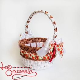 White and Brown Basket SVK-1018