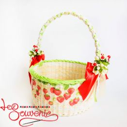 Basket Strawberries SVK-1022