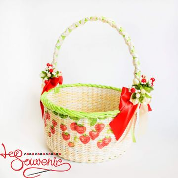 Basket Strawberries SVK-1022