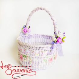 Gently Violet Basket SVK-1024