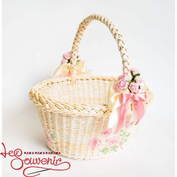 Wicker Beige Basket SVK-1027