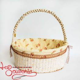 Wicker Beige Basket SVK-1028