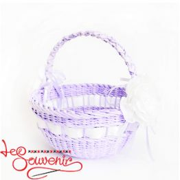 Purple Wicker Basket  SVK-1035