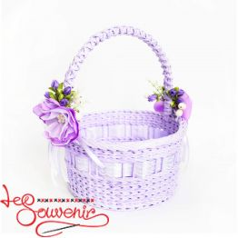 Purple Wicker Basket  SVK-1037