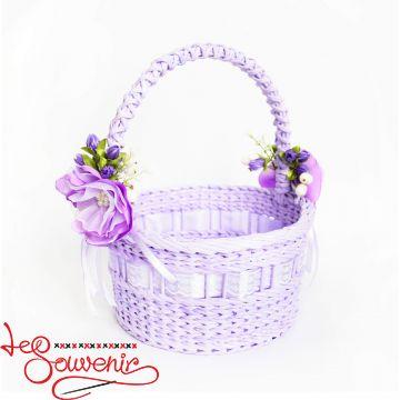 Purple Wicker Basket  SVK-1037
