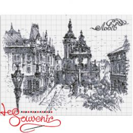 Набір для вишивання хрестиком Львів INV-1001