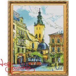 Набір для вишивання хрестиком Львів INV-1002
