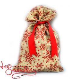 Мешок для подарков бежевый INS-1002