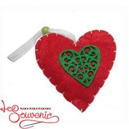 Игрушка текстильная Сердечко INS-1008