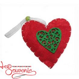 Іграшка текстильна Сердечко INS-1008