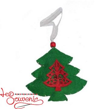 Textile Toy Christmas Tree INS-1012