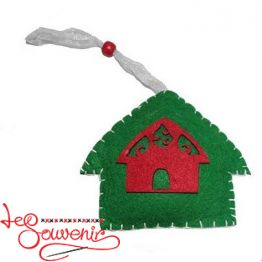 Textile Toy House INS-1013