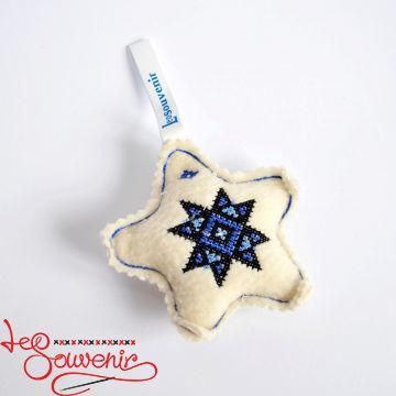 Toy Blue Snowflake INS-1026