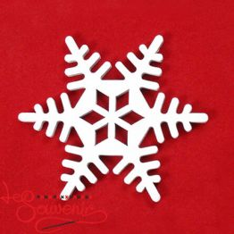Wooden toy Snowflake INS-1030