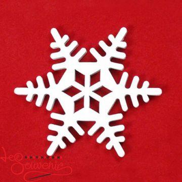 Іграшка дерев'яна Сніжинка INS-1030