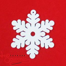Wooden toy Snowflake INS-1031