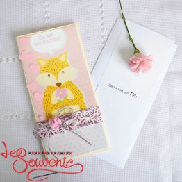 Postcard Be my Valentine IVL-1013