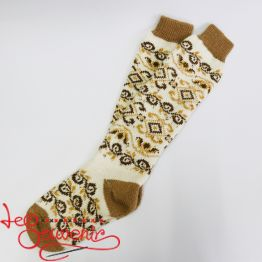 Women's Knitted High Socks ISV-1005