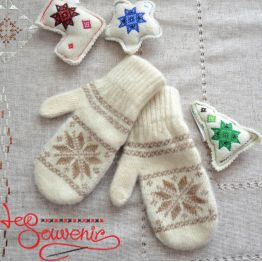 Women's Knitted Mittens ISV-1007