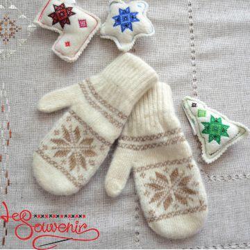 Women's Knitted Mittens ISV-1007