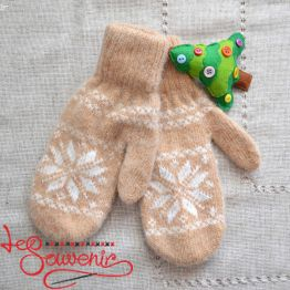 Women's Knitted Mittens ISV-1008