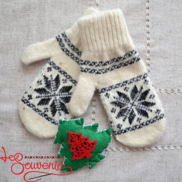 Women's Knitted Mittens ISV-1009