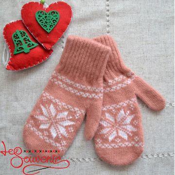 Women's Knitted Mittens ISV-1010
