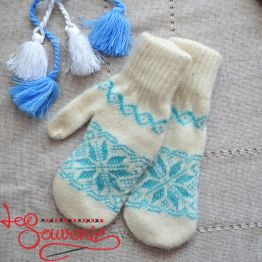 Women's Knitted Mittens ISV-1011