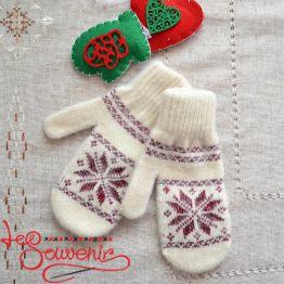 Women's Knitted Mittens ISV-1012