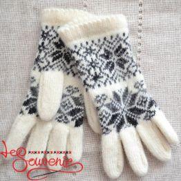 Женские вязаные перчатки ISV-1013
