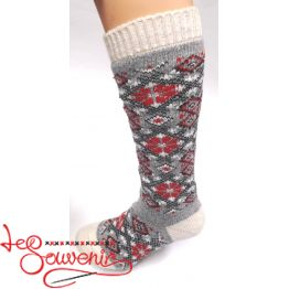 Women's Knitted High Socks ISV-1014