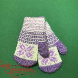 Children's Knitted Mittens ISV-1020