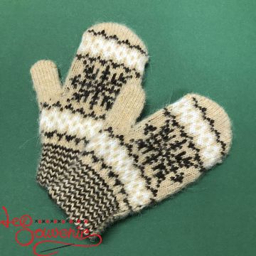 Children's Knitted Mittens ISV-1022