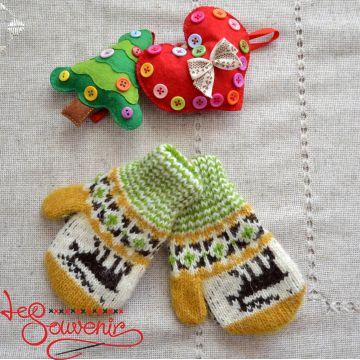 Children's Knitted Mittens ISV-1023