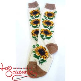 Women's Knitted High Socks ISV-1027