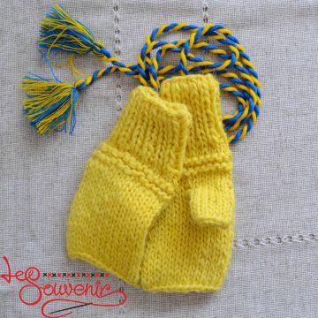 В'язані рукавиці без пальців  ISV-1028