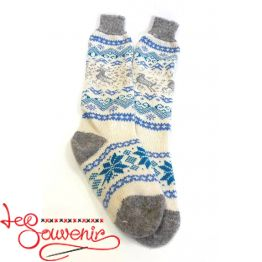 Women's Knitted High Socks ISV-1038