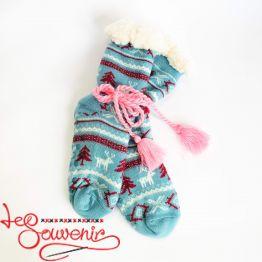 Женские тёплые носки ISV-1046