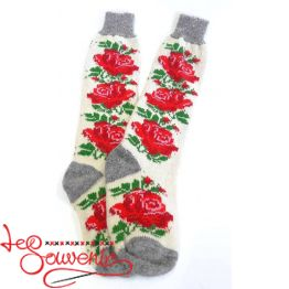 Women's Knitted High Socks ISV-1048